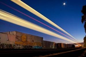 Поезда — телепорты