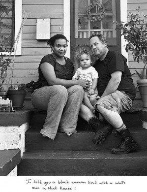 «Палки и камни» — фотопроект о том, что чувствуют на себе межрасовые пары