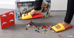 LEGO выпустила анти-LEGO тапочки