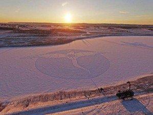 Огнедышащий дракон в холодной Сибири