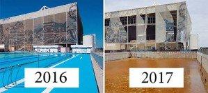 Город хрустальной мечты Рио-Де-Жанейро 2016 спустя 6 месяцев после Олимпийских игр