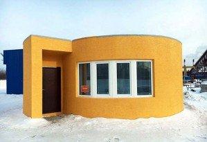 3D-принтер напечатал дом за 24 часа