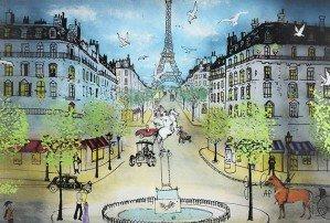 3-d картины на стекле от Жана-Пьера Вейля
