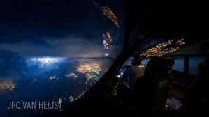 Пилот Boeing 747 работает в лучшем офисе на Земле