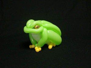 Животные из шариков японского художника