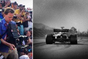 Фотограф заснял Formula-1 на 100-летнюю камеру