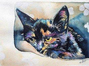 Магия черных кошек Лауры Слейд