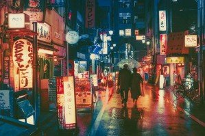Ночной Токио на фотографиях Masashi Wakui