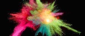 Взрыв цвета на фотографиях