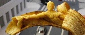 Банановые скульптуры Кейсу Ямада