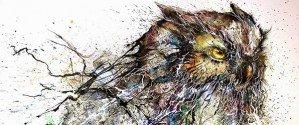 «Ночная сова» китайского стрит-арт художника