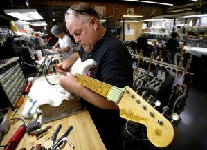 60 лет гитаре Fender Stratocaster
