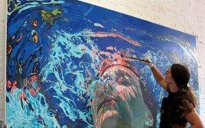 Подводное художество Саманты Френч