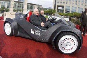 Первый в мире автомобиль, созданный на 3D принтере