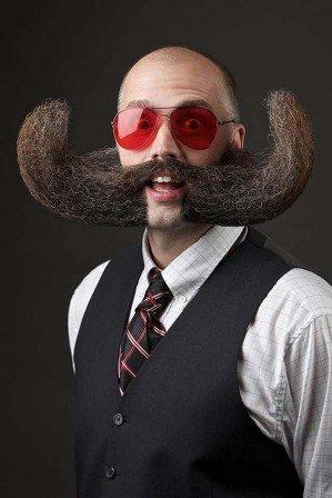 Самые впечатляющие бороды и усы США 2014