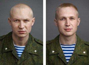 Влияние армии в фотопроекте Юрия Чичкова