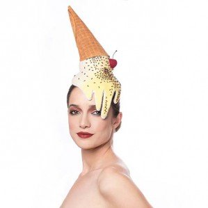 Вкусные шляпки от израильского дизайнера