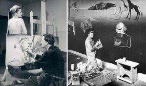 25 студий знаменитых художников