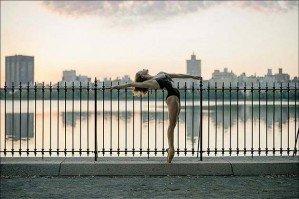 Потрясающие фотографии балерин на городских улицах