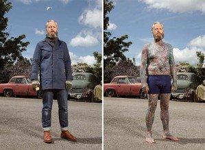 Что скрывается под одеждой татуированных людей