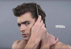 Как менялась мужская прическа за 100 лет