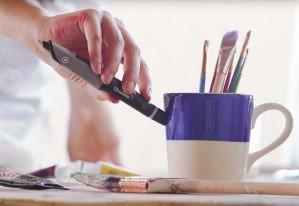 Ручка, которая может сканировать и воспроизводить любой цвет