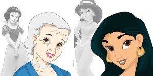 Как выглядели бы принцессы Диснея в старости