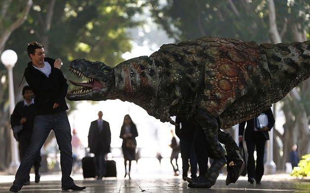 Оживший динозавр