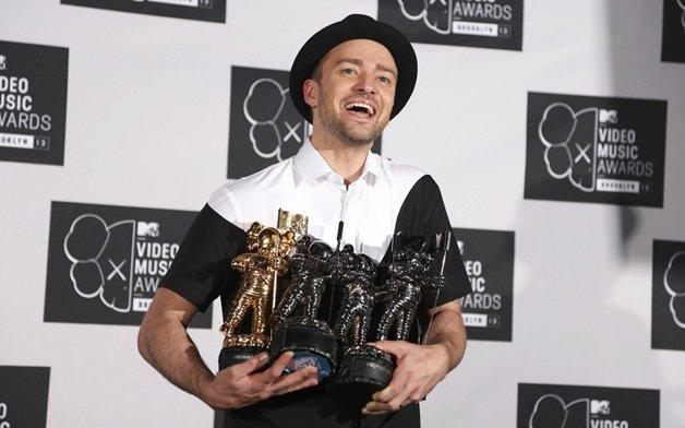 Джастин Тимберлейк на MTV Music Awards