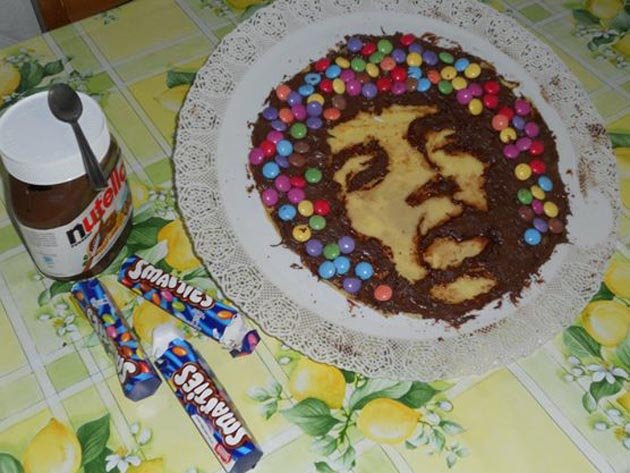 Боб Марли из шоколадной пасты