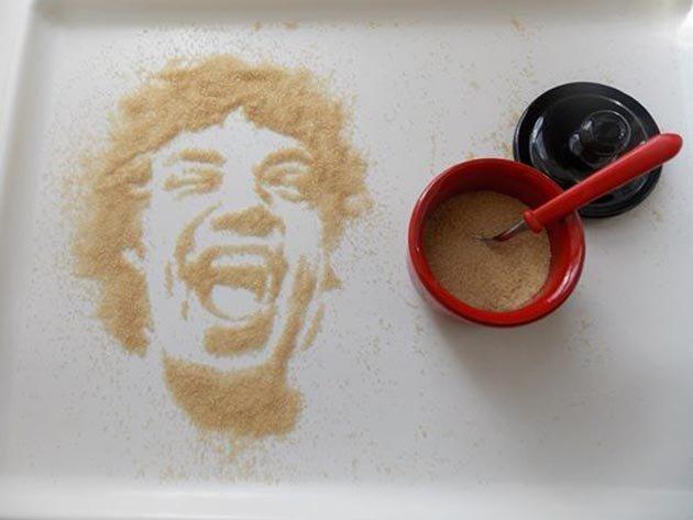Мик Джаггер из коричневого сахара