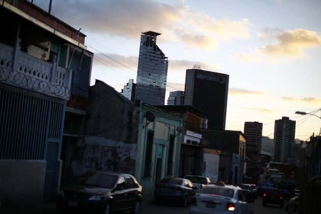 Башня Давида в Каракасе
