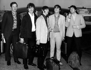 Photo of BEATLES and Brian EPSTEIN