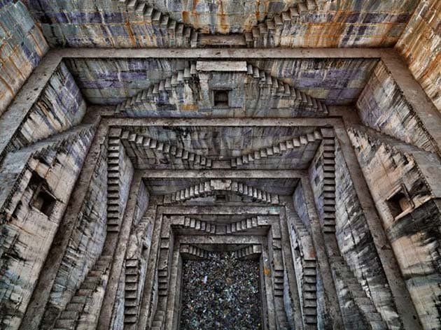 Sagar Kund Baori step well in Bundi, Rajasthan, India, 2010
