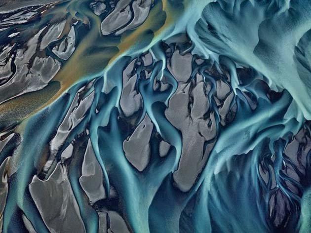 Thjorsa river, Iceland, 2012