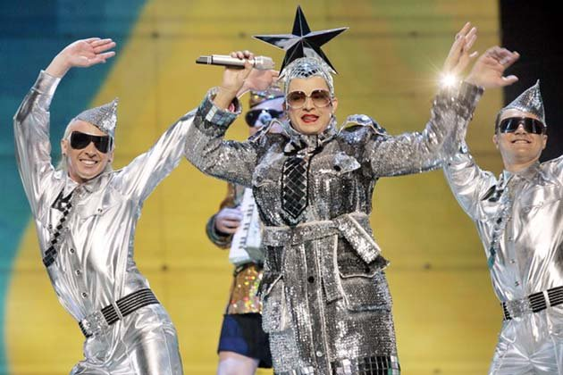 Eurovision Song Contest dress rehearsal - Verka Serduchka