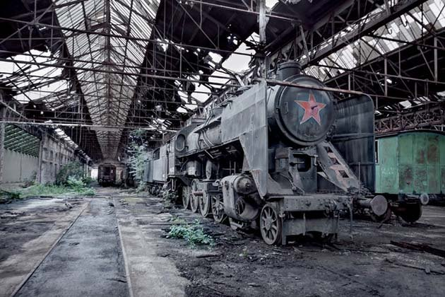 Призраки СССР на фотографиях Ребекки Личфилд