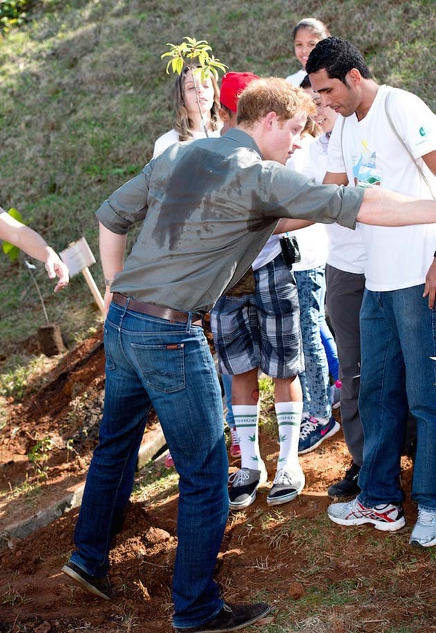 Prince Harry Visits Brazil - Day 3