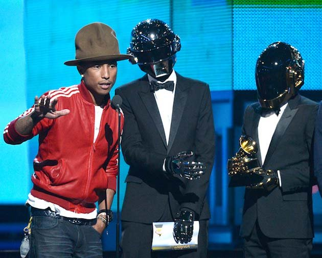 onstage during the 56th GRAMMY Awards at Staples Center on January 26, 2014 in Los Angeles, California.
