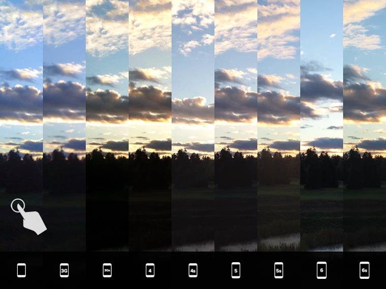 iphone-camera-evolution-Low-light-Sunrise