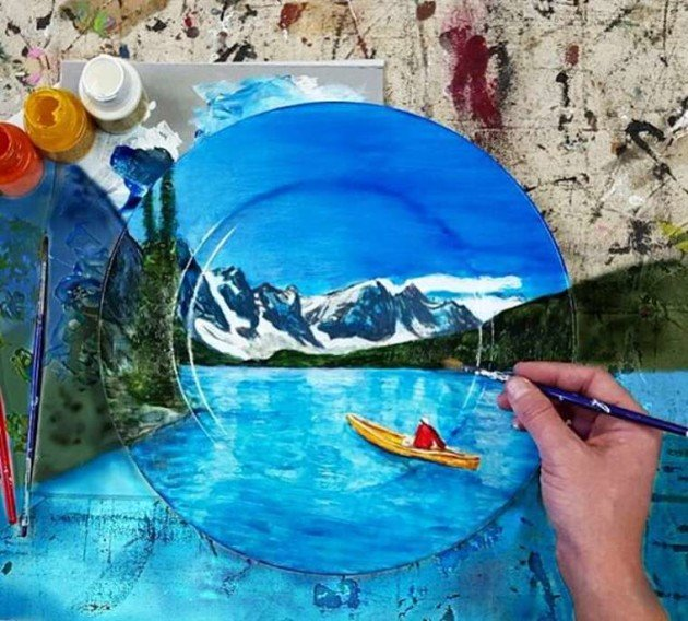 Jacqueline-Poirier-Crazy-Landscape-Plates-1
