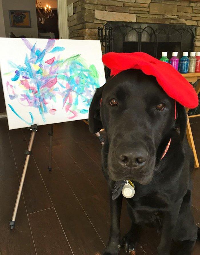 painting-dog-vinci-yvonne-dagger-23