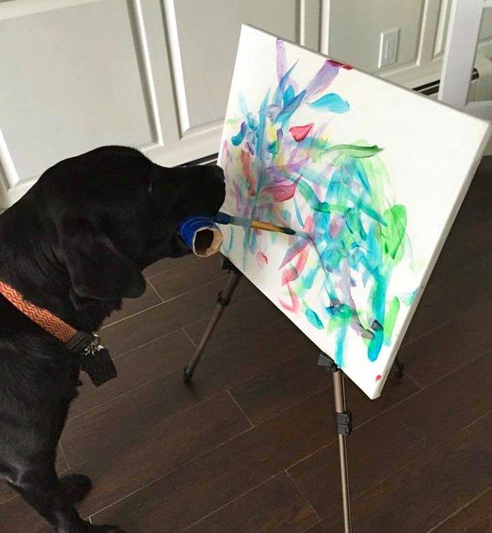 painting-dog-vinci-yvonne-dagger-7