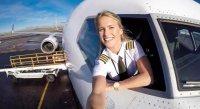 Пилот Мария — новая Instagram-сенсация