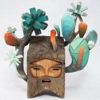 Таинственные деревянные фигуры Жами Молина